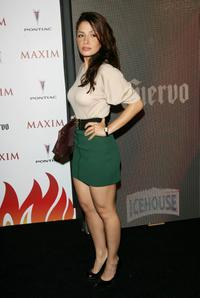 Sarah Shahi at the Maxim Hot 100 Party.