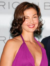 Ashley Judd at press conference to announce her new role as the spokesperson for Estee Lauder cosmetics line