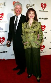 Larry Strickland and Naomi Judd at the Musicares 2004 Person of the Year Tribute to Sting.