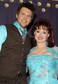 Rossi Morreale and Naomi Judd at the 2008 CMT Music Awards.