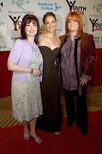 Naomi Judd, Ashley Judd and Wynonna Judd at the annual YouthAIDS Benefit Gala.