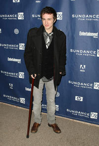 Reece Daniel Thompson at the premiere of