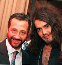 Judd Apatow and Russell Brand at the after party of the premiere of