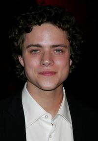 Douglas Smith at the premiere of
