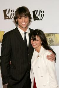 Jared Padalecki and Sandra McCoy at the 11th Annual Critics Choice Awards.