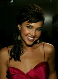Arielle Kebbel at the Dina Bar-El Fall 2007 fashion show.