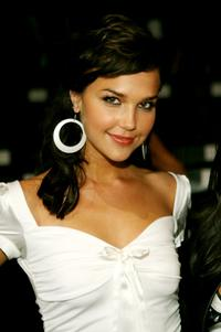 Arielle Kebbel at the Collection Bebe 2007 fashion show.