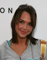 Arielle Kebbel at the Supergirl Collection Launch Party.
