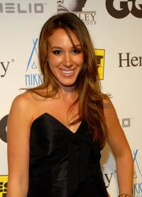 Haylie Duff at the Timbaland Celebrates MTV VMAs with Celebrity Bash.