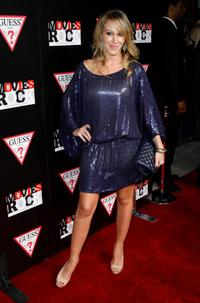 Haylie Duff at the Guess and Conde Nast