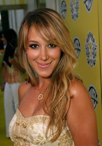 Haylie Duff at the launch of the Tweety Designer Collection.