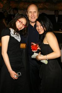 Valerie Tian, Robert Duvall and Caroline Chan at the premiere screening of