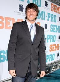 Josh Braaten at the premiere of