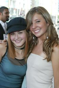 Scout Taylor-Compton and Katija Pevec at the premiere of