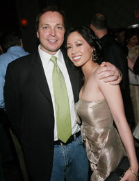 Director Bobby Farrelly and Wen Yann Shih at the New York premiere of