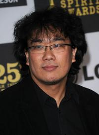 Bong Joon-ho at the 25th Film Independent's Spirit Awards.