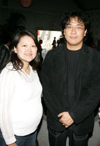 Kymber Lim and Bong Joon-ho at the Audi party for