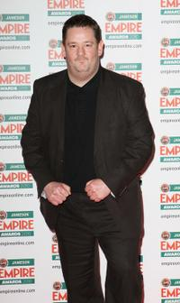 Johnny Vegas at the Jameson Empire Film Awards.