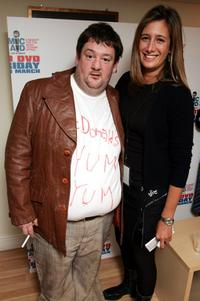 Johnny Vegas and Jessica Callan at the