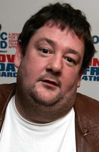 Johnny Vegas at the