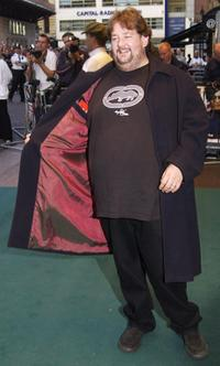 Johnny Vegas at the premiere of