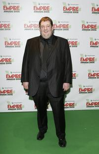 Johnny Vegas at the Sony Ericsson Empire Film Awards 2006, the Annual Awards show.