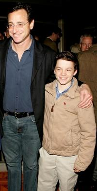 Bob Saget and Conor Donovan at the opening of