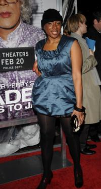 Aisha Hinds at the screening of