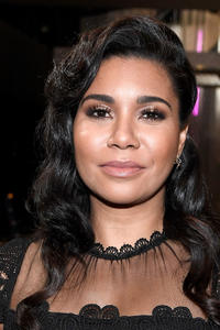 Jessica Pimental at the 23rd annual SAG Awards behind the scenes event in Los Angeles.
