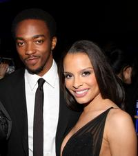 Anthony Mackie and Antonique Smith at the after party of the premiere of