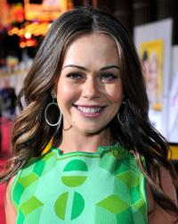 Alexis Dziena at the world premiere of