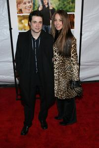 Adam Ferrara and Alex Tyler at the premiere of