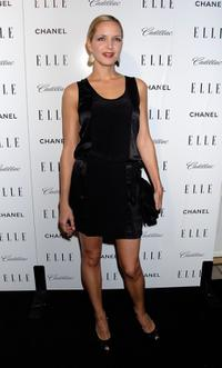 Jordana Spiro at the Elle's 14th Annual Women in Hollywood party.
