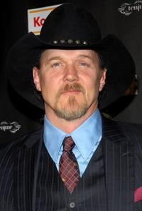 Trace Adkins at the viewing party of