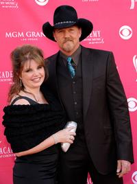 Rhonda Forlaw and her husband Trace Adkins at the 43rd Annual Academy Of Country Music Awards.