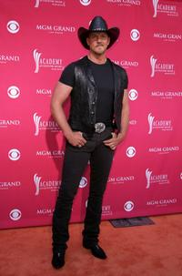 Trace Adkins at the 41st Annual Academy Of Country Music Awards.