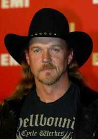 Trace Adkins at the EMI's Post-Grammy Bash.