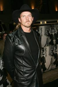 Trace Adkins at the premiere of