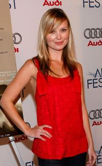 Sara Simmonds at the AFI FEST 2007.