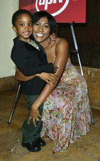 Khamani Griffin and Terri Vaughan at the NAACP Image Awards Cocktail reception.
