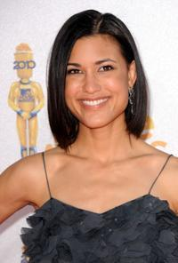Julia Jones at the 2010 MTV Movie Awards.