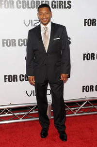 Khalil Kain at the premiere of