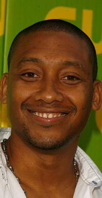 Khalil Kain at the CW Launch Party.
