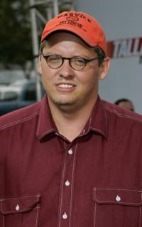 Adam McKay at the premiere of