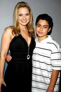 Kimberly Bigsby and David Castro at the premiere of