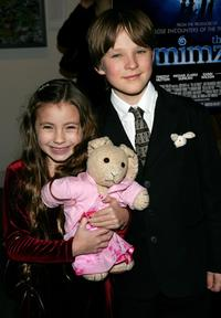 Rhiannon Leigh Wryn and Chris O'Neil at the premiere of