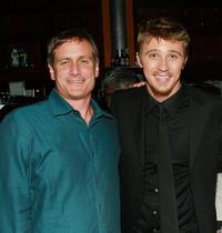John Hegeman and Garrett Hedlund at the after party of the premiere of
