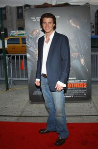 Garrett Hedlund at the premiere of