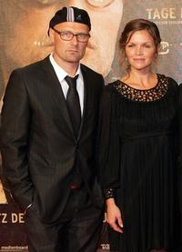 Ole Christian Madsen and Stine Stengade at the German premiere of