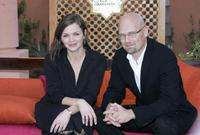 Stine Stengade and Ole Christian Madsen at the photocall of